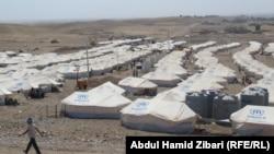 Iraq – Kurdish exodus from Syria, Camp Kawrugusk, 17Aug2013