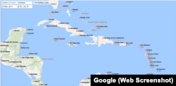 Google Flights Map View