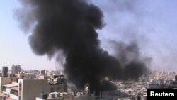 Один из районов города Хомса