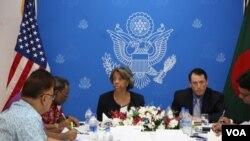 U.S. Ambassador to Bangladesh Marcia Bernicat