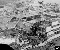 ჩერნობილის ატომური სადგური კატასტროფის შემდეგ