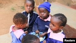 Watoto wa shule nchini Kenya.