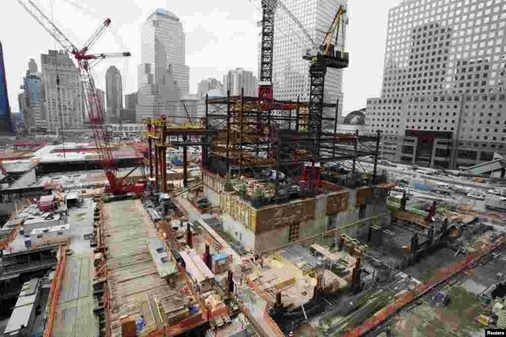 The World Trade Center construction site, September 8, 2009.