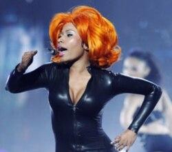 Nicki Minaj performing in June