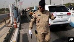 Kontrolni punkt u Bagdadu