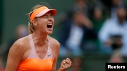Maria Sharapova, Paris, 3 juin 2014