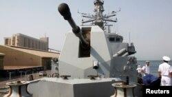 Chiến hạm HMS Sutherland.
