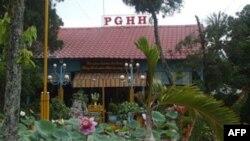Một cơ sở thờ tự của Phật giáo Hòa hảo