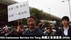前中國全國政協委員劉夢熊 (攝影:美國之音湯惠芸)