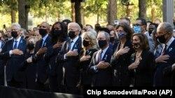 Casais Clinton, Obama e Biden, Nova Iorque 11 de Setembro de 2021