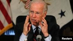 El vicepresidente Joe Biden presiona para que el Congreso reforme las leyes del país que regulan la compra y uso de armas de fuego.