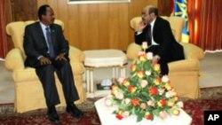 R/Wasaare Farmaajo oo la Kulmay Zenawi