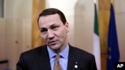 Радослав Сікорський, глава польського Сейму