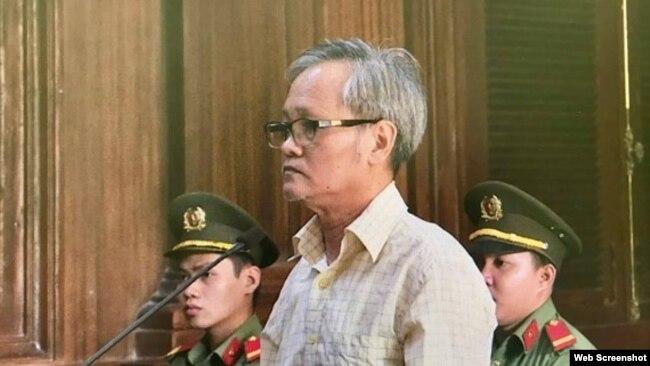 Ông Trần Công Khải tại phiên tòa ngày 27/6/2019 ở Tp. HCM. Photo SGGP