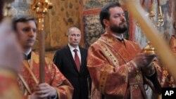 День инагурции президента России - 7 мая 2012 г.