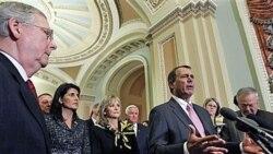 چکش ریاست مجلس نمایندگان آمریکا، نشان دموکراسی