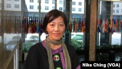 Allison Lee, salah satu pendiri Serikat Buruh Migran Yilan, diakui oleh Amerika sebagai pelindung hak-hak nelayan asing yang bekerja di Taiwan. (Foto: dok).