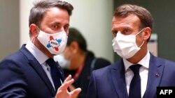 Xavier Bettel û Emmanuel Macron