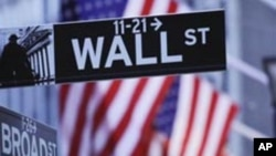 Wall Street and the New York Stock Exchange are shown in New York. (file)