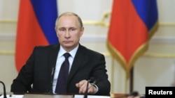 FILE - Russian President Vladimir Putin