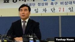 유창근 개성공단정상화촉구 개성공단 기업협회 부회장 (자료사진)