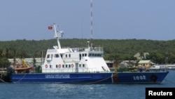 Tàu tìm kiếm và cứu nạn của cảnh sát biển Việt Nam.