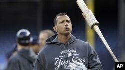 Las Grandes Ligas darían a conocer la sanción de Alex Rodríguez y otros peloteros estte viernes 2 de agosto.