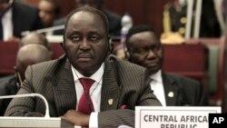 Central African Republic President Francois Bozize, June 30, 2011.