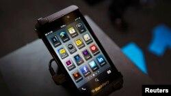 黑莓智能手機