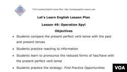 Lesson 49 Lesson Plan