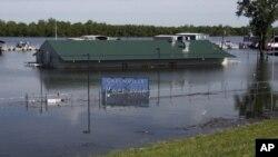 Излевањето на Мисисипи предизвика рекордни поплави