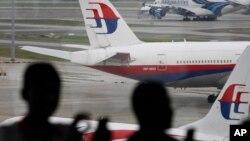 Un avion de la compagnie aérienne Malaysia Airlines à Kuala Lumpur, le 5 mars 2016.