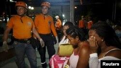 عملیات امداد پس از زلزله در اکوادور