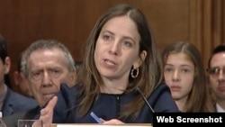 سیگل مندلکر، معین وزارت خارجۀ امریکا در امور دهشت افگنی و استخبارات مالی
