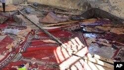 Bom ya fashe a Maiduguri, Najeriya, 23 Oktoba, 2015.
