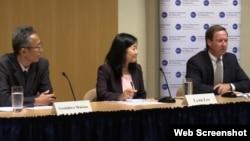 워싱턴의 민간단체인 민주주의진흥재단과 국제 민주주의연구소가 13일 북한의 인권 문제와 대북정책을 주제로 토론회를 개최했다.