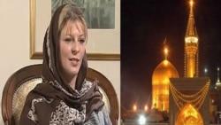 خواهر زن تونی بلر پس از سفری به ايران مسلمان شد