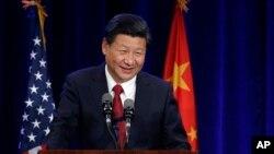 中國國家主席習近平9月22日抵達美國華盛頓州西雅圖發表講話。