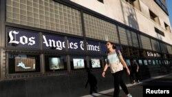 از جمله روزنامه هایی که تحت تاثیر حملات سایبری قرار گرفت، لس آنجلس تایمز است.