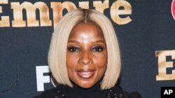 "Mary J. Blige attends the ""Empire"" season two premiere on Sept. 12, 2015 in New York."