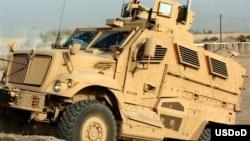 AQSh O'zbekistonga 308 dona bronetransportyor (MRAP - zirxli mashina), shuningdek, 20 dona zirhli remont-evakuatsiya mashinasi (BREM) uzatmoqda.