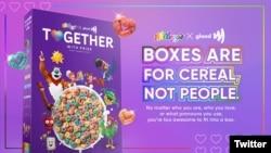 Novi dizajn Kelogsovih cerealija iskazuje podršku pravima na različito seksualno opredeljenje.
