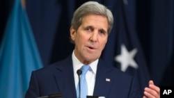 美国国务卿克里星期三在国防大学发表外交政策讲话 (2016年1月13日)