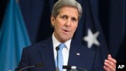 Выступление Джона Керри в Национальном университете обороны