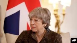 "British Prime Minister Theresa May calls President Donald Trump's retweeting of anti-Muslim videos ""wrong."""
