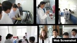 미국의 민간 구호단체 '조선의 그리스도인 벗들'의 북한 내 결핵 퇴치 지원 활동 모습. (사진 출처: '조선의 그리스도인 벗들' 웹사이트)