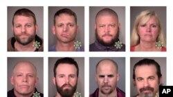 Члены милиции, арестованные в 2016 году за захват федерального заповедника в штате Орегон