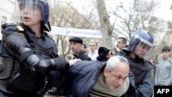 Ադրբեջանում ոստիկանությունը ցրել է ընդդիմության հավաքը