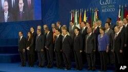 Встреча лидеров G-20