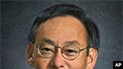U.S. Department of Energy Secretary Steven Chu. (file)